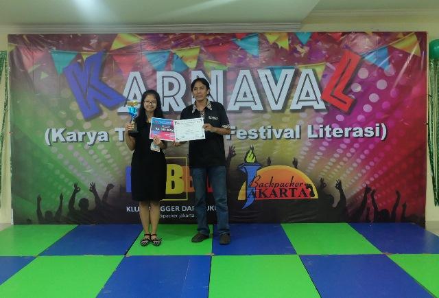 juara 1 lomba baca cerpen karnaval 2019 - kubbu.net