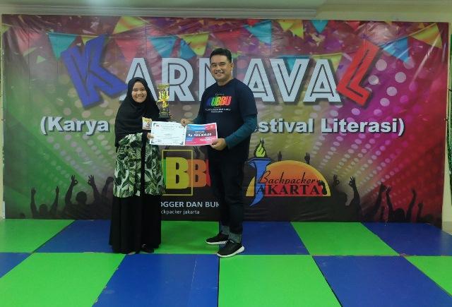 juara 1 lomba baca puisi karnaval 2019 - kubbu.net