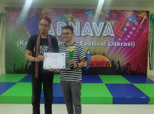 juara 1 lomba cipta puisi karnaval 2019 - kubbu.net