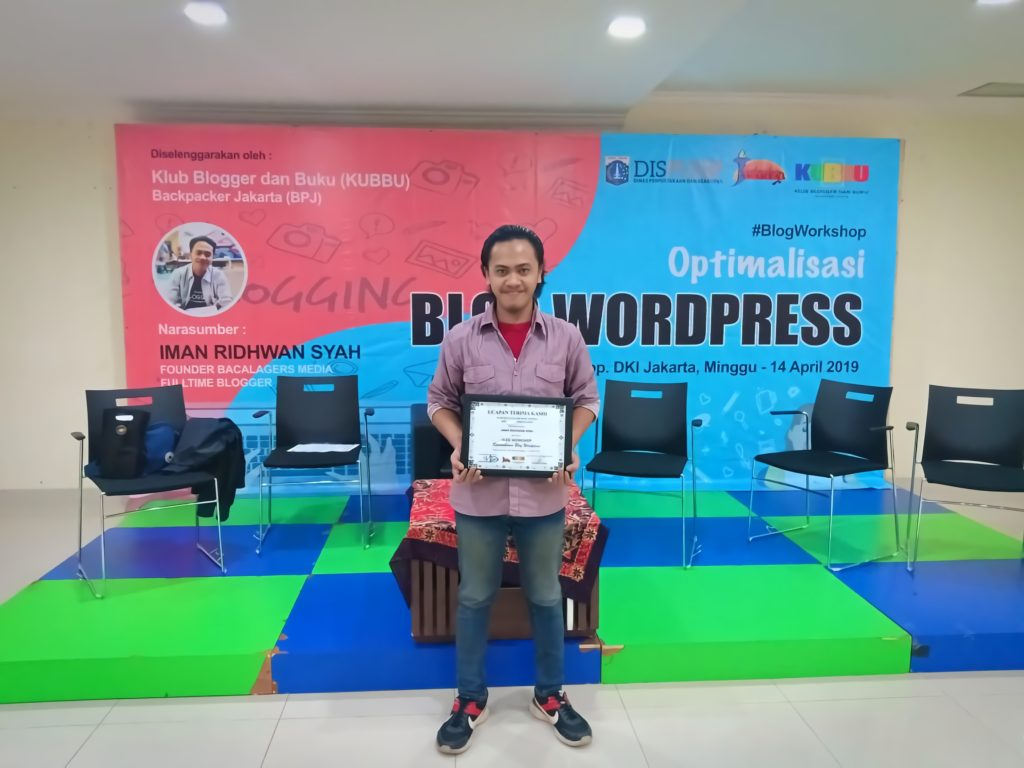 Optimalisasi Blog, #Blogworkshop