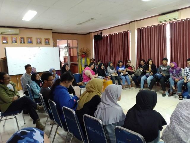 peserta yang hadir di bakti sosial selaras dalam jiwa - kubbu.net